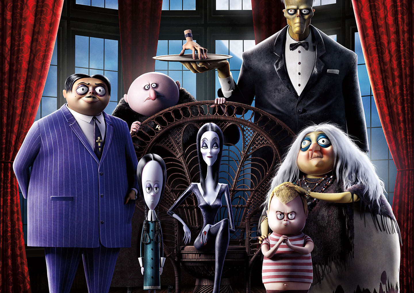 The Addams Family (2019) header image